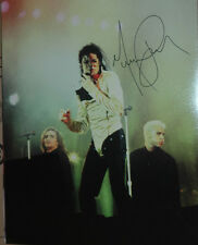 Michael Jackson In-Person AUTHENTIC 16 x 20 Autographed Photo COA SHA #82503