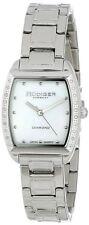 Rudiger Women's R2600-04-009 Bonn Tonneau Stainless Steel MOP Diamond Watch