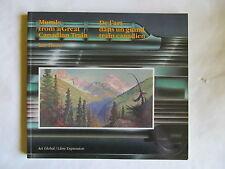Murals Art in Canadian Train 18 artists Railways CP 1986