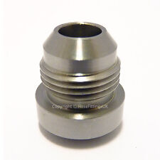 AN-4 AN4 MILD STEEL WELD ON BUNG Boss Hose Fitting Adapter Fuel Oil Tank Cell