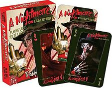 A Nightmare On Elm Street set of 52 playing cards + jokers (nm)