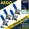 H7 Xenon White Blue Bulbs Halogen 499 100w Car Headlight Headlamp Bulbs 12v 4 x