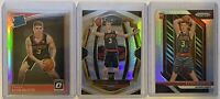 2018-19 Panini Optic Select Prizm Kevin Huerter Rookie Card Lot(3) Silver Holo