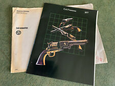 Vintage 1977 Colt Firearms Guns Catalog