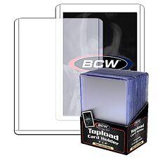 10 Card Toploaders Rigid 3X4 Hard Plastic Toploader Storage Holder Thick 59pt