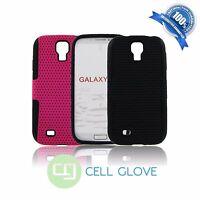 Hybrid Rugged Defender Net Hard Case Cover Soft Case For Samsung Galaxy S4 I9500