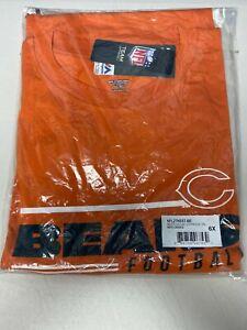 Chicago Bears Majestic Burnt Orange Line of Scrimmage T-Shirt Big & Tall 6XL