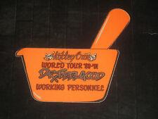 MOTLEY CRUE ORIGINAL 1989-1991 OTTO BACKSTAGE PASS**DR FEELGOOD TOUR**RARE**