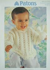 Super Chunky Knitting Pattern Baby//Child/'s Jackets /& Sweater Chest 56-86 228