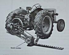 IH International Farmall McCormick 100 2pt 3pt Balanced Head Sickle Mower Manual