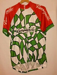 Campagnolo Cycling Jersey Cycle Bike Biking vtg (3XL) (XXXL)