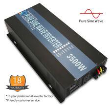 3500W Solar Pure Sine Wave Power Inverter Dc 24V to Ac 120V Home Solar System
