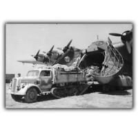 "WW2 War photos Messerschmitt Me 323 Gigant Germany Size ""4 x 6"" inch J"