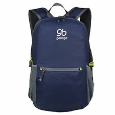Gobago Foldable Ultra Lightweight Packable Backpack Bag for Outdoor Travel Hike
