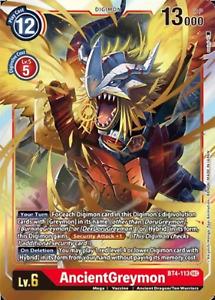 AncientGreymon (BT4-113) [BT-04: Booster Great Legend]