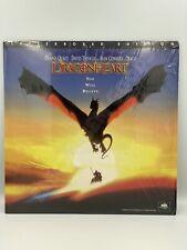 LETTERBOX EDITION DRAGONHEART LASERDISC 1996 NTSC DOLBY SURROUND