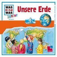 """WAS IST WAS JUNIOR """"FOLGE 10 UNSERE ERDE"""" CD NEU"""