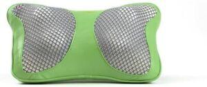 Homepro JFK896 Travel Massage Lumbar Neck Back Shiatsu Massager Heat Car Green