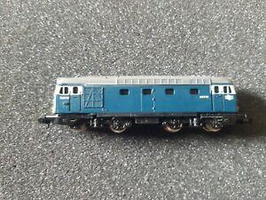 Minitrix N Gauge class 27 diesel D5370 in BR Blue