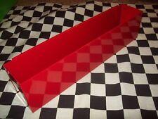 "SPECIAL 6 - 16"" RED TOOL BOX AEROSOL SPRAY CAN HOLDERS ORGANIZER HOLDER STORAGE"