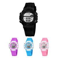 HOT Waterproof Children Boys Digital LED Sports Watch Kids Date Wrist Watch Gift