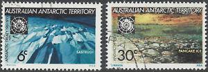 Australian Antarctic Terr 1971 Treaty 10th Anniv (2), FU (CTO, no gum) SG19-20