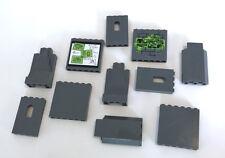 LEGO Dark Bluish Gray Panels Mixed Bulk Lot 11 Pieces GOOD VARIETY of Bricks