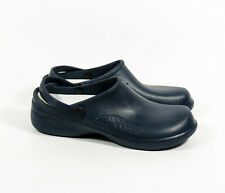 Women's Natural Uniforms 9012 Ultralite Navy Medical Clogs Nursing Shoes Sz 11