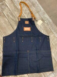 Will Leather Goods Denim Work Apron NEW Retail $95