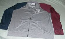 NWT Ladies Soft Official MLB Boston Red Sox Jacket Gray Red Blue 2XL Womens