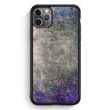 Sternen Himmel Galaxy Lila iPhone 11 Pro Silikon Hülle Motiv Design Mädchen M...