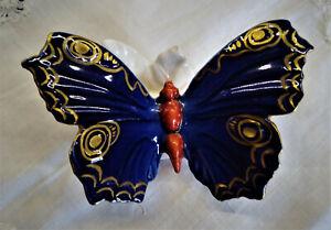 Porzellanfigur,Schmetterling,Ens