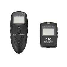 JJC WT-868 Wireless Timer Remote for OLYMPUS E-PLM 6 5 OM-D E-M5 DSLR camera