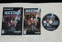 Maximo vs Army of Zin (Sony PlayStation 2, 2004) Very Good - Complete & Tested