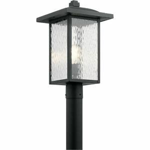 Kichler Lighting 49927BKT Capanna Post Light Textured Black