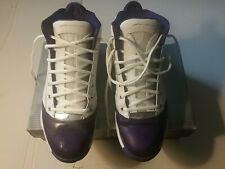 2004 Air Jordan 19 SE West Coast 308492-172 Size 11 White/Gold/Varsity Purple