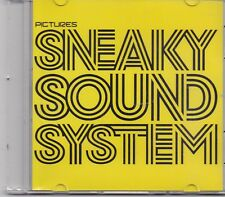Sneaky Sound System-Pictures promo cd single