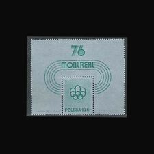 Poland , Sc #B130, Mnh,1975, S/S, Olympics, Montreal, 1Fhi
