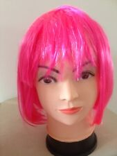 Halloween Party BOB style Party Costume Wigs Red Pink Black White Blue only $5ea