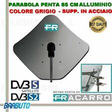 PARABOLA 85 CM IN ALLUMINIO PENTA FRACARRO GRIGIA SUPPORTO POST. ACCIAIO 211203