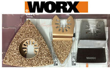 Worx Sonicrafter Oscillating Multitool Universal Paint Removal Kit - 3 PC WA5098