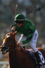 FRANKIE DETTORI HORSE RACING PERSONALLY HAND SIGNED 12X8 PHOTO