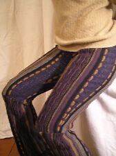 ARTNOVO Designs Sweggings Upcycled Sweater Pants Hippie Boho Bell bottom OOAK