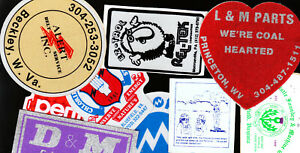 COAL   MINE STICKERS AS12