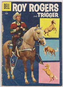 Roy Rogers and Trigger #100, Very Good Condition