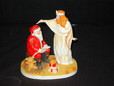 Norman Rockwell ~ The Snow Queen ~ Santa Figurine ~ Collection of Legendary Art