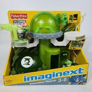 Green Lantern Planet OA Action Figure Set DC Super Friends Comics Imaginext Toy