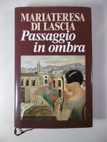 F383 PASSAGGIO IN OMBRA MARIATERESA DI LASCIA FELTRINELLI MILANO EUROCLUB 1995