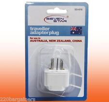 Plug Adaptor - Australia / New Zealand / China Wall Plug Adapter SS-616