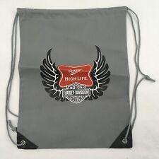 """Harley-Davidson Lightweight String Backpack Promotional Item 15"""" x 12"""""""
